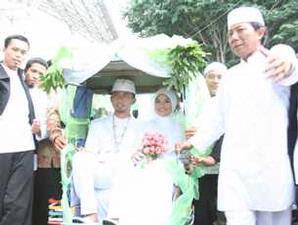 photo pernikahan Ghaida Tsurayya