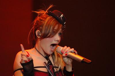 Mulan Jameela on the stage