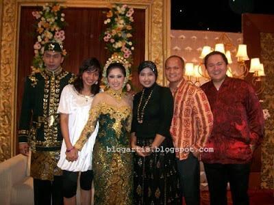 Meutya Hafid wedding
