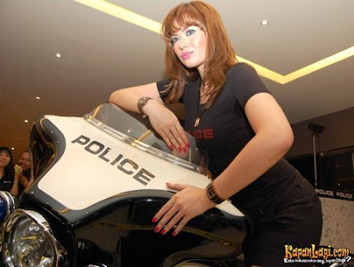 Catherine Wilson is now a POLICE watches' ambassador
