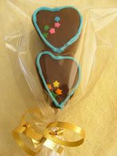Bombon corazon de chocolate
