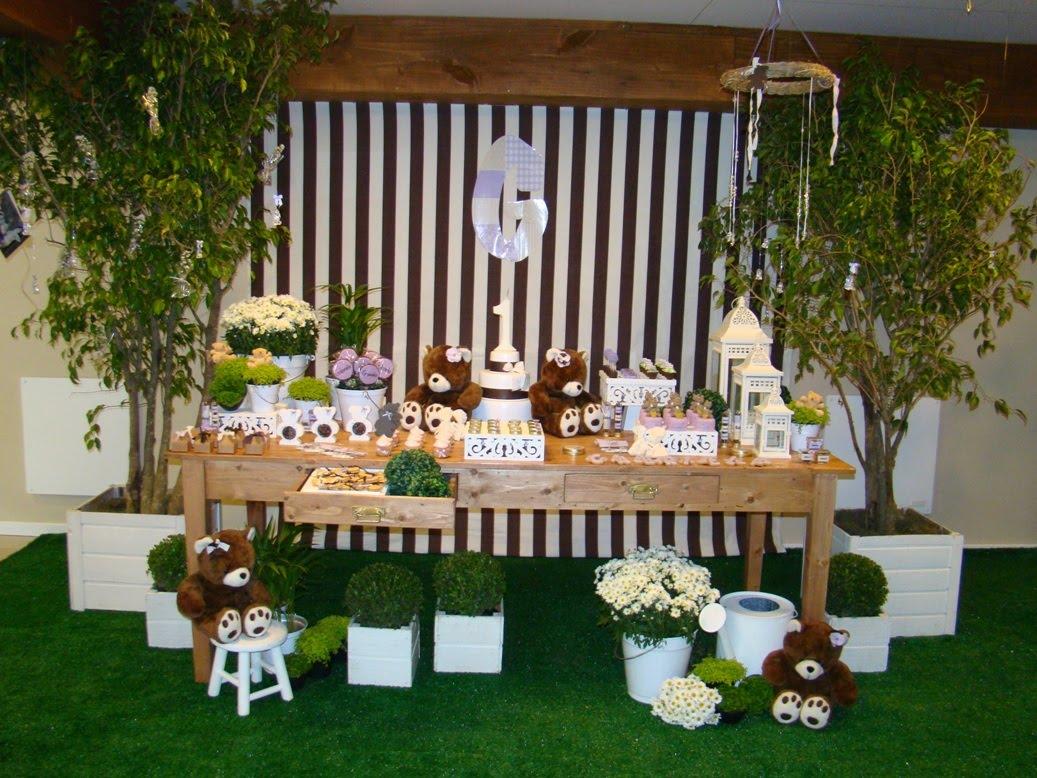 festa jardim dos ursos:Vanessa Trombini: JARDIM DOS URSOS E DA GABRIELA