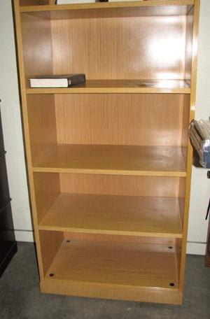 La estanteria de madera que no es de ikea - Estanterias bano carrefour ...