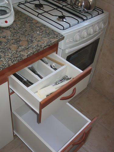 Cajones y muebles de la cocina for Cajoneras de cocina
