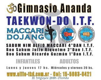 Clases de Taekwondo - ITF