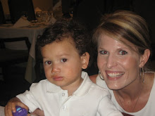 Mama & Mateo...its late and he is tired!