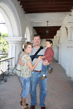 Doug, Mateo and I in La Antigua