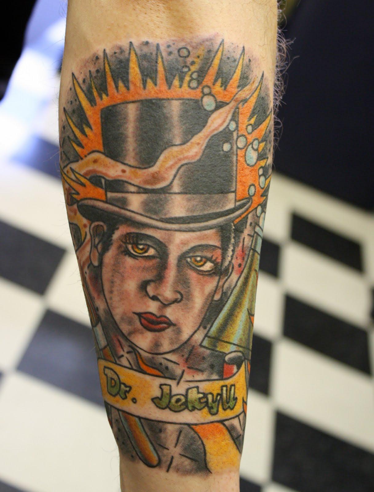 jekyll and hyde tattoo...
