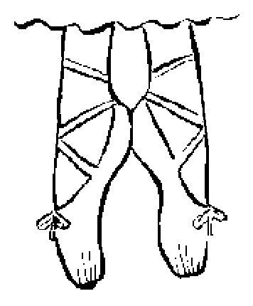 Riscos - bailarina Moldes - Desenhos - Riscos