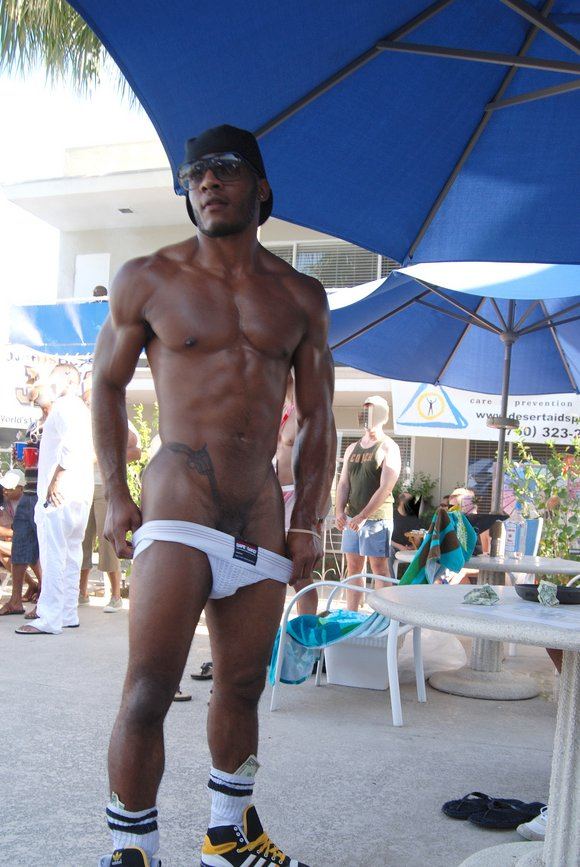 Bb9 strip show pool party