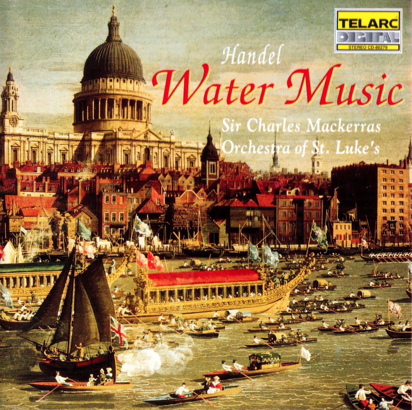 Händel: Water Music - Orchestra of St. Luke\'s, Mackerras - jewish-music