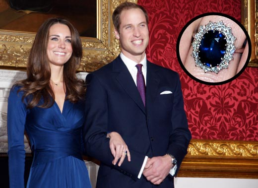 william and kate engagement ring picture. william and kate engagement