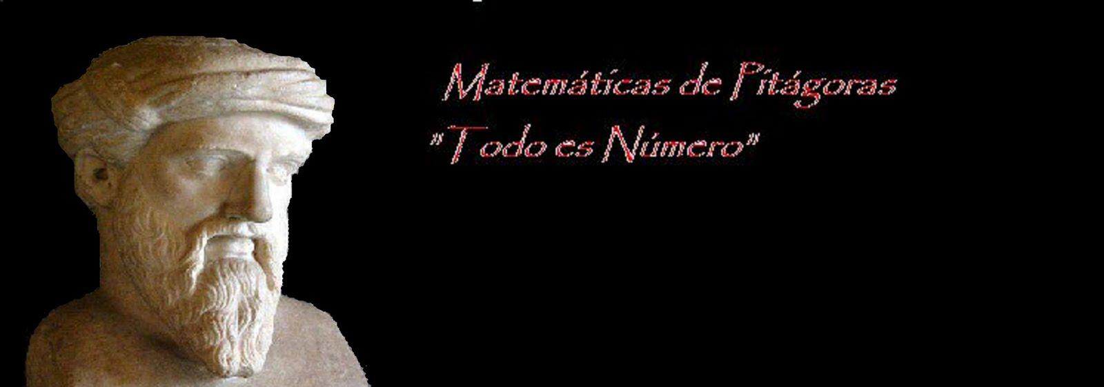 Matemáticas de Pitágoras...