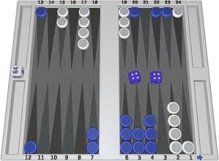 trouver la solution à cet exercice backgammon