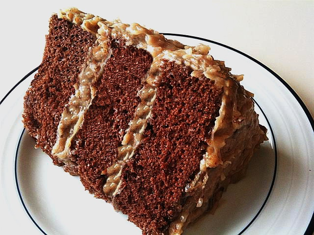 Amy Rose Designs: German Chocolate Cake for MY Valentine