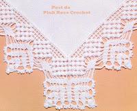 Barrado De Croch     Canto  Gr  Fico   Crochet Edging