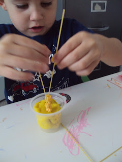Time For Play Playdoh Spaghetti Cereal Buttons Straws