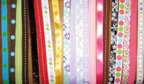 Ribbons available