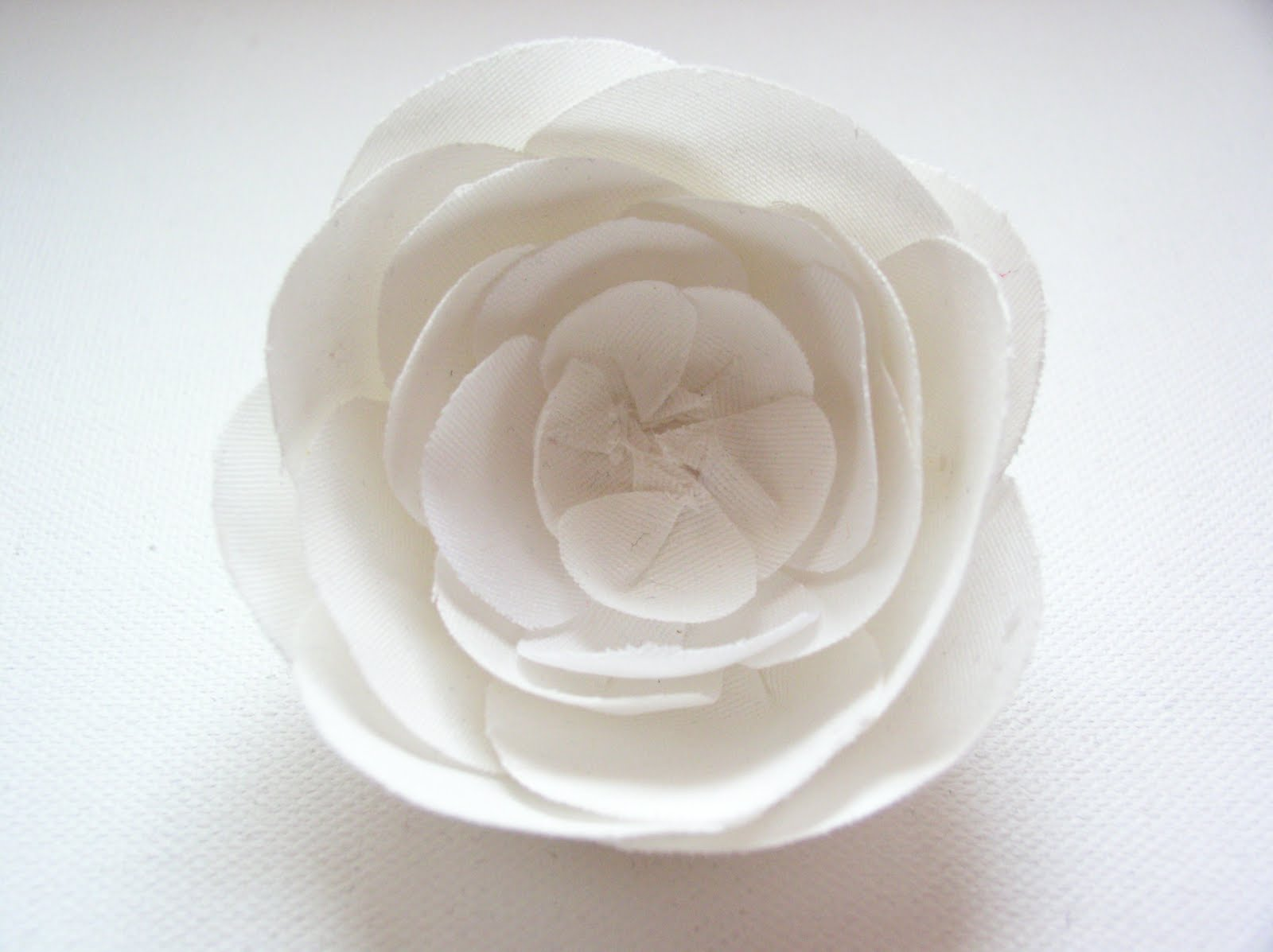 My silk flower white fabric rose white fabric rose mightylinksfo