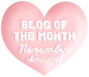 Blog of the Month - November 2010 :)