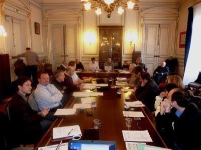 Le Comité Directeur de la FFE réuni aujourd'hui à Clichy © Aurélie Dacalor
