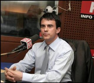 Manuel Valls, le maire d'Evry