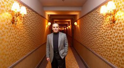 L'ex-champion du monde d'échecs Garry Kasparov reconverti en opposant politique - photo Le Figaro