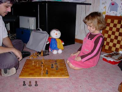 Laurent Verat et sa fille Lilou - photo FFE
