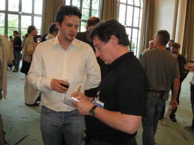 Etienne Bacrot interviewé par Pierre Teisserenc à Pau cet été pour Chess & Strategy