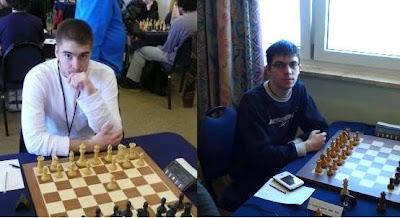Les français Clovis Vernay et Maxime Vachier-Lagrave © Chess & Strategy