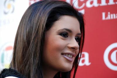 La belle Alejandra Echevarria est élue Miss Jaén 2009 - photo ChessBase