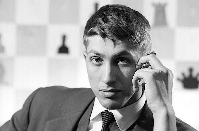 Le tout jeune champion américain Bobby Fischer
