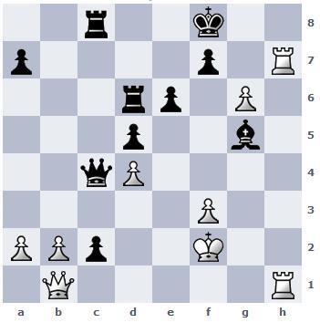 Les Blancs jouent et matent en 5 coups