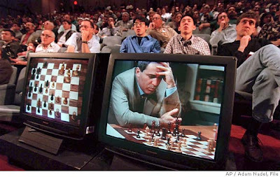 Garry Kasparov contre Deep Blue