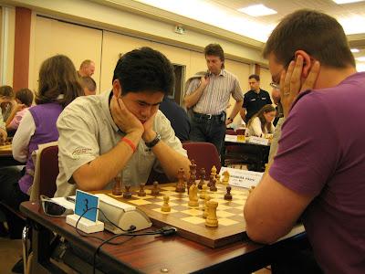 Hikaru Nakamura a battu notre ami Robert Fontaine © Chess & Strategy