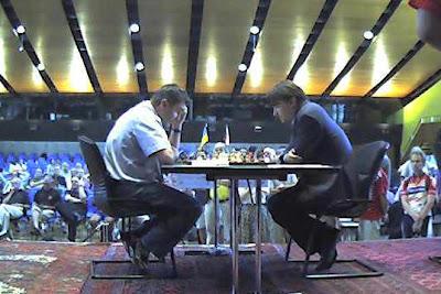 Ivanchuk craque face à Morozevich © site officiel