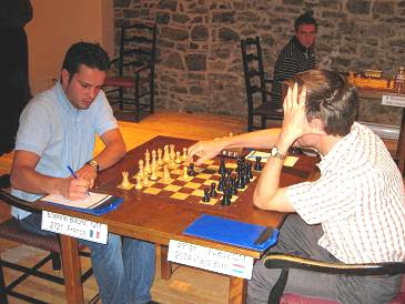 Etienne Bacrot face à Sergei Tiviakov