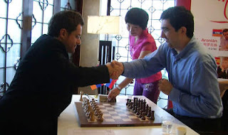 Echecs à Shanghai : Levon Aronian battu par Vladimir Kramnik ronde 5