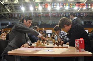 Echecs & Olympiades : Baadur Jobava bat Magnus Carlsen - ronde 4