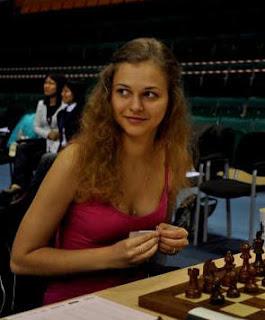 Echecs & Olympiades : la jolie grand-maître slovène Anna Muzychuk