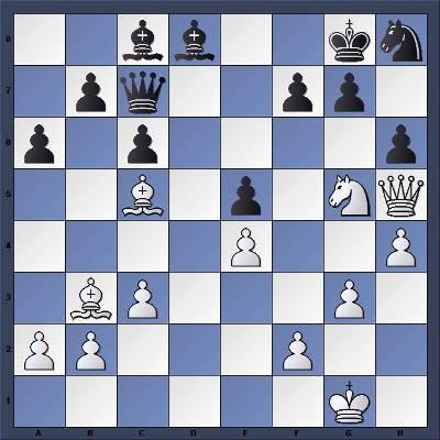 Echecs & Tactique : Les Blancs gagnent en 8 coups - Niveau Moyen