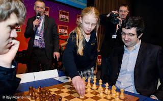 Echecs à Londres : Kramnik 1/2 Carlsen © Ray Morris-Hill