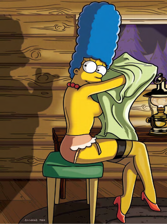 Marge Simpson Nua Playboy