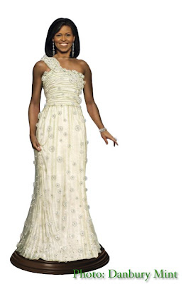 Collecting Fashion Dolls By Terri Gold Michelle Obama Inaugural Doll