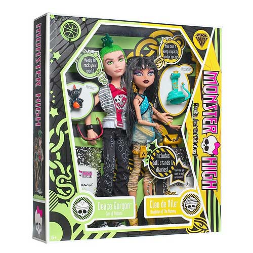 The new Monster High Dolls and related merchandise has launched and I