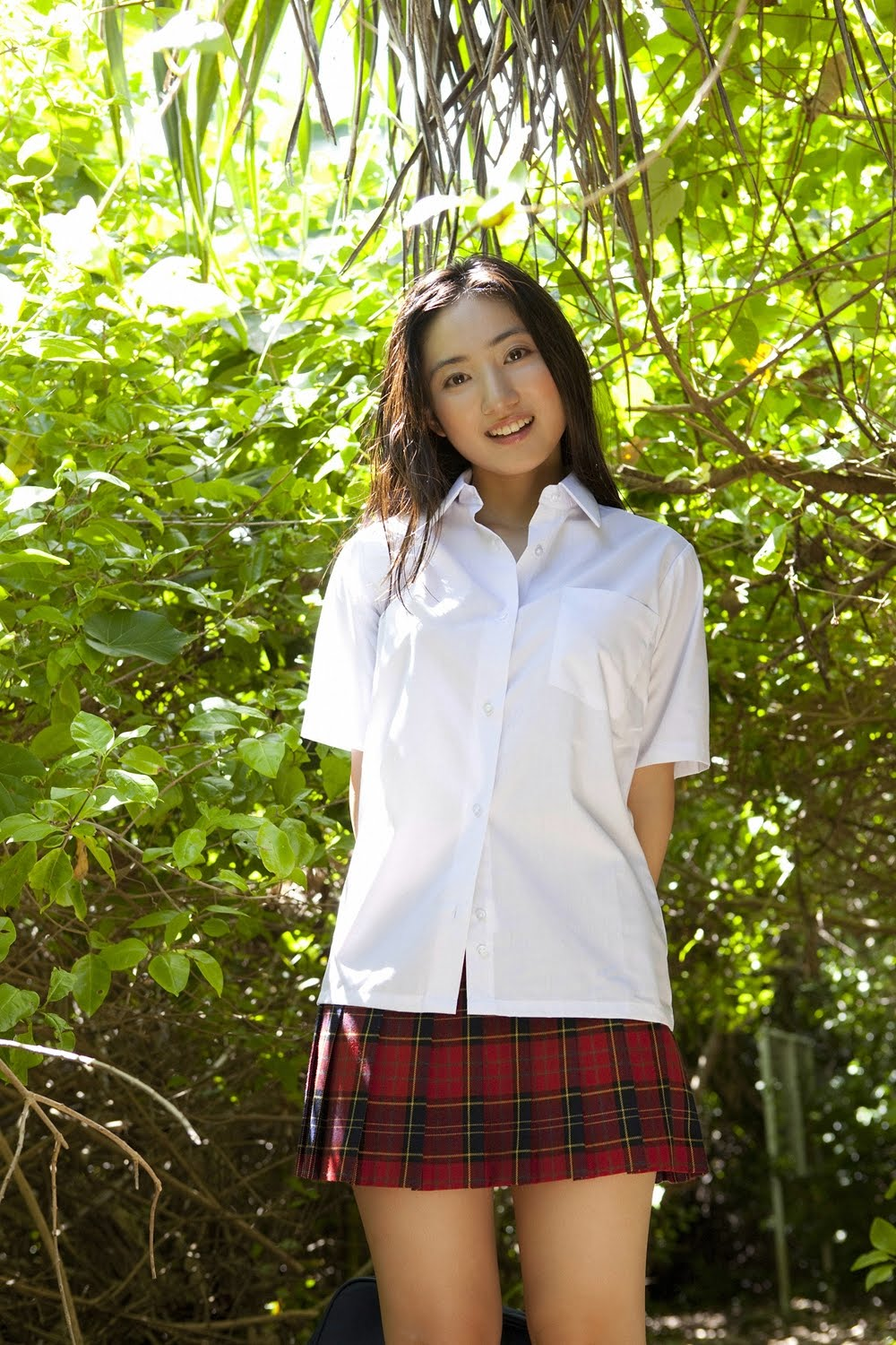 Meet the simple, cute and beautiful Saaya Irie from Japan