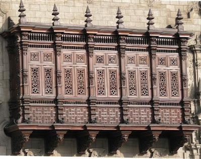 Comunidad aut noma de cuba espa a los balcones de lima - Balcones cerrados ...
