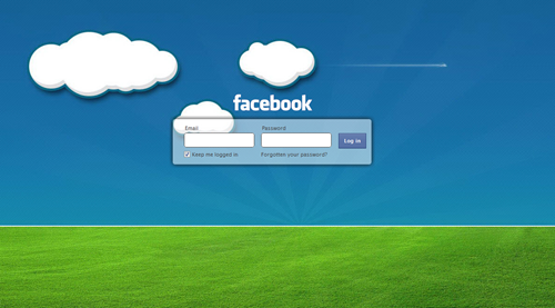 How to Change Facebook login background