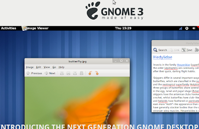 Gnome 3 official website