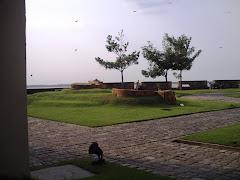 ainda no forte do castelo ponto turistico de Belém
